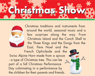 Christmas Show by Travelling by Tuba