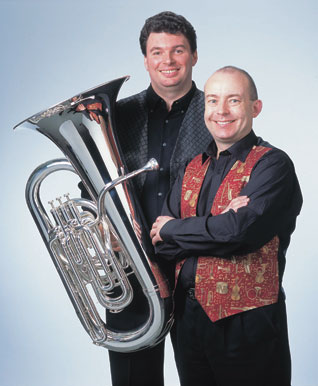 Travelling by Tuba Chris Cranham and Stewart Death